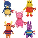 Ty Beanie Babies 8' Nick Jr's Backyardigans 5pc Set