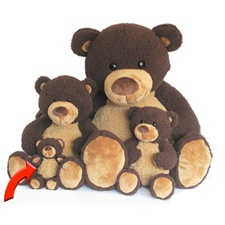 World's Softest Teddy Bears - Chocolate Moe 8