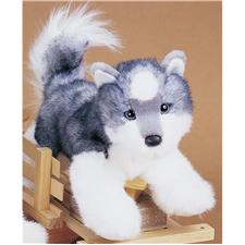 Douglas-12-Mini-Floppy-Joli-Husky-Dog
