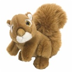 "7"" Wild Republic Wild Watch Squirrel"