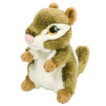 "7"" Wild Republic Wild Watch Chipmunk"
