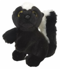 "7"" Wild Republic Wild Watch Skunk"