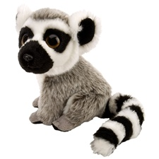 "7"" Wild Republic Wild Watch Ringtail Lemur"