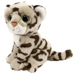 "7"" Wild Republic Wild Watch Leopard Snow"