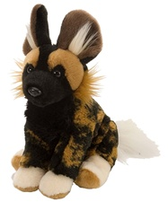 "8"" Wild Republic Cuddlekins-Mini African Wild Dog"