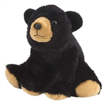Wild Republic Mini Black Bear 8""