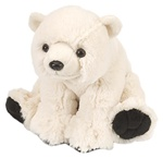"8"" Wild Republic Cuddlekins-Mini Polar Bear Baby"