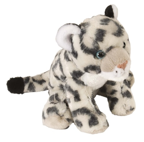 8 Wild Republic Cuddlekins Mini Snow Leopard Baby