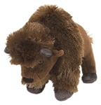 "8"" Wild Republic Cuddlekins-Mini Bison"