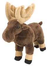 "8"" Wild Republic Cuddlekins-Mini Moose"