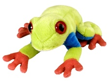 "Wild Republic 8"" Cuddlekins-Mini Ret Frog"