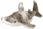 "10"" Wild Republic Cuddlekins-Mini Shark Hammerhead discontinued"