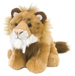 "8"" Wild Republic Cuddlekins-Mini Smilodon"