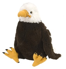 "12"" Wild Republic Cuddlekins Bald Eagle"