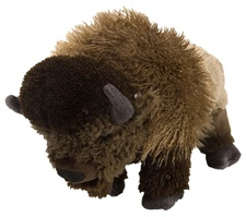 "12"" Wild Republic Cuddlekins Bison"