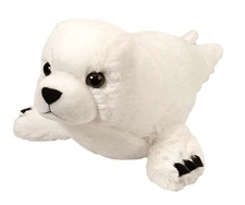 "15"" Wild Republic Cuddlekins Harp Seal Pup discontinued"