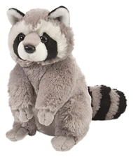 "12"" Wild Republic Cuddlekins Raccoon"