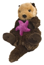 "Wild Republic Cuddle Cove 15"" Sea Otter"