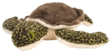 "12"" Wild Republic Cuddlekins Sea Turtle Green Baby"