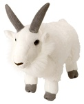 "12"" Wild Republic Cuddlekins Mountain Goat"
