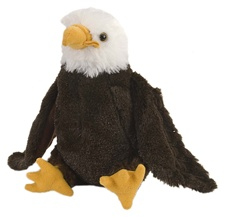 "8"" Wild Republic Cuddlekins-Mini Bald Eagle"