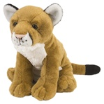 "12"" Wild Republic Cuddlekins Mountain Lion"