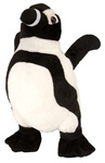 "12"" Wild Republic Cuddlekins Penguin Black Footed"