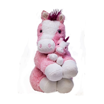 "20"" & 8"" World's Softest ""Hailey"" Horse Bundle"