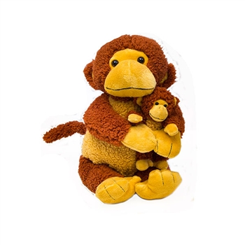 "20"" & 8"" World's Softest ""Mango"" Monkey Bundle"