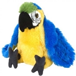 Wild Republic Mini Macaw Parrot 8""