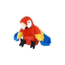 Wild Republic Mini Macaw Scarlet 8""