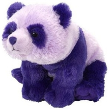 Wild Republic Purple Panda 12""