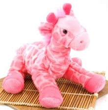 "12""  Wild Republic Cuddlekins-Vibes Giraffe Pink discontinued"