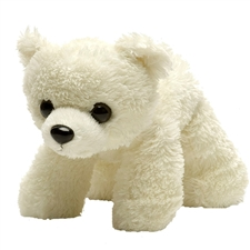 "Wild Republic 7"" Hug'Ems Polar Bear Baby"