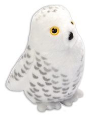 "Wild Republic Snowy Owl 6"" with sound"