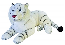 Wild Republic Cuddlekins Jumbo White Tiger 30""