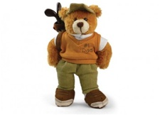 Plushland #1 Dad Golf Bear