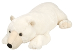 "Wild Republic Cuddlekins Polar Bear 30"" Jumbo"