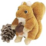 "Wild Republic 6"" Squirrel Red with Sound"