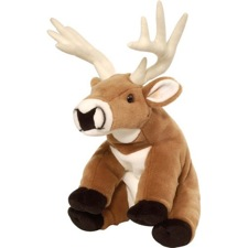 "Wild Republic Cuddlekins Deer Wht Tailed 12"" discontinued"