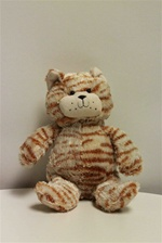 "Beverly Hills Teddy Bear 9"" Scruffy Cats-ORANGE"