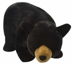 "30"" Wild Republic Cuddlekins Blk Bear  discontinued"