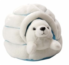 "4.5"" Wild Republic Igloo With Polar Bear"
