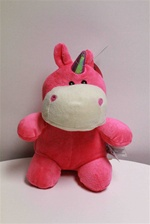 "Beverly Hills Teddy Bear 10"" Dragon & Dinosaurs-PINK"