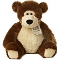 "Aurora 15"" Luv To Cuddle Dark Brown Bear"