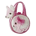 "Aurora 6"" My Dear Pet Carrier Purse"