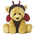 "Aurora 9"" Woe Bear Lady Bug"