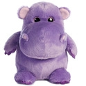 "Aurora 11"" Hunk Of Love Hippo Purple"