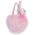 "Aurora 7"" Powderpuff Fancy Pal Purse - Pink"
