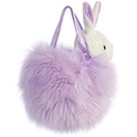 "Aurora 7"" Powderpuff Fancy Pal Purse - Purple"
